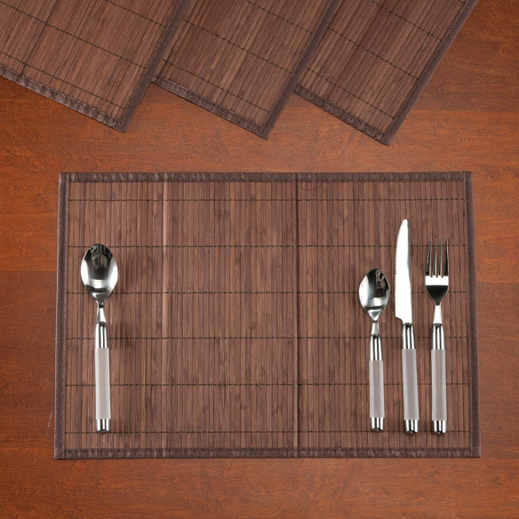 Bamboo Placemats, Set of 4 - View 2