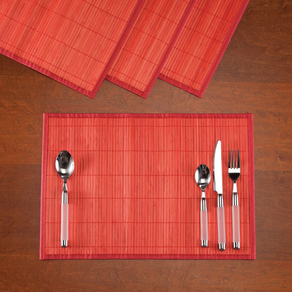 Bamboo Placemats, Set of 4 - View 3