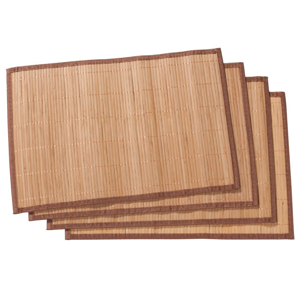 Bamboo Placemats, Set of 4 - View 5