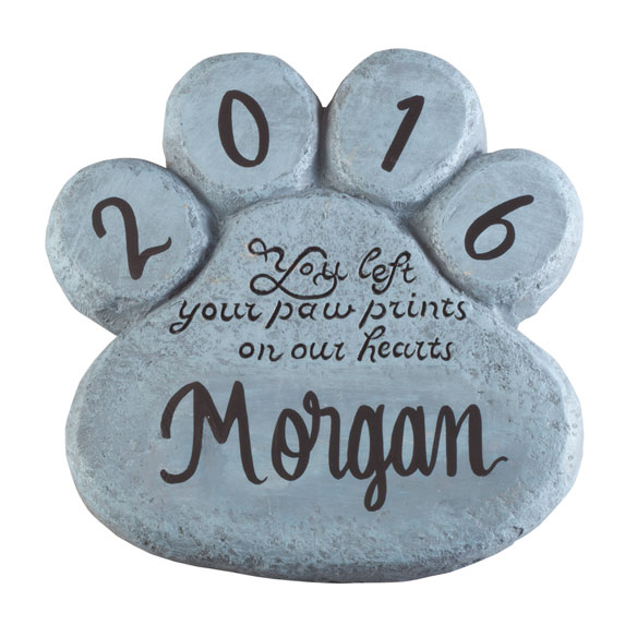 Personalized Pet Memorial Stone - View 2