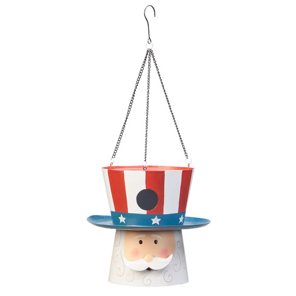 Uncle Sam Birdhouse - View 2