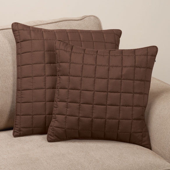 Microfiber Pillow Covers by OakRidge Comforts™, Set of 2 - View 3