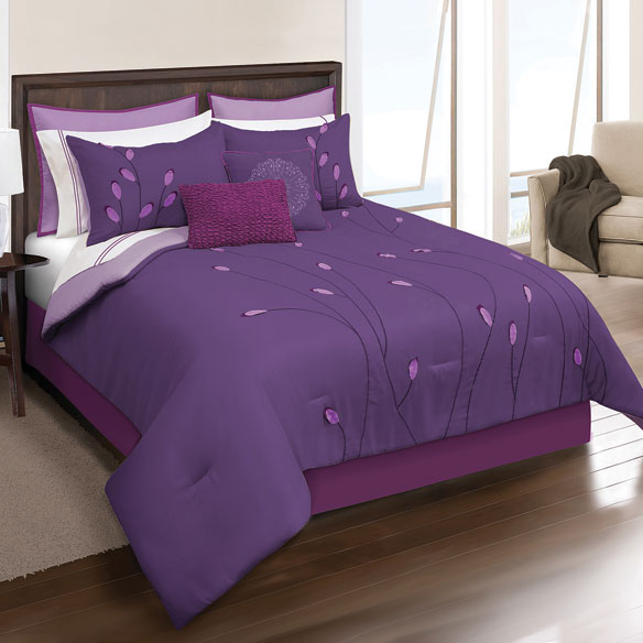 Annalise 8 Piece Microfiber Bed Set - View 2