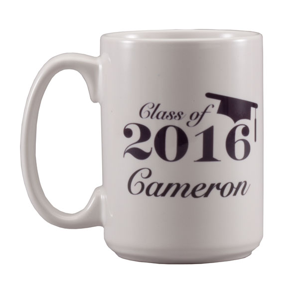 Personalized Graduation Mug - View 2