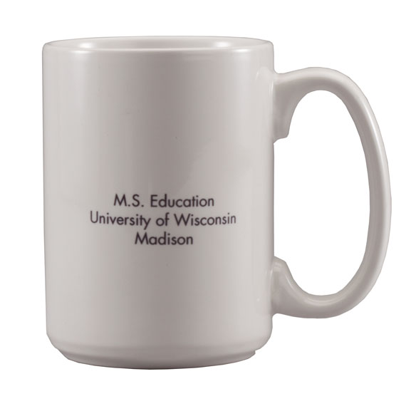 Personalized Graduation Mug - View 3