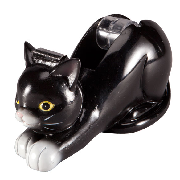 Cat Shaped Tape Dispenser - View 2