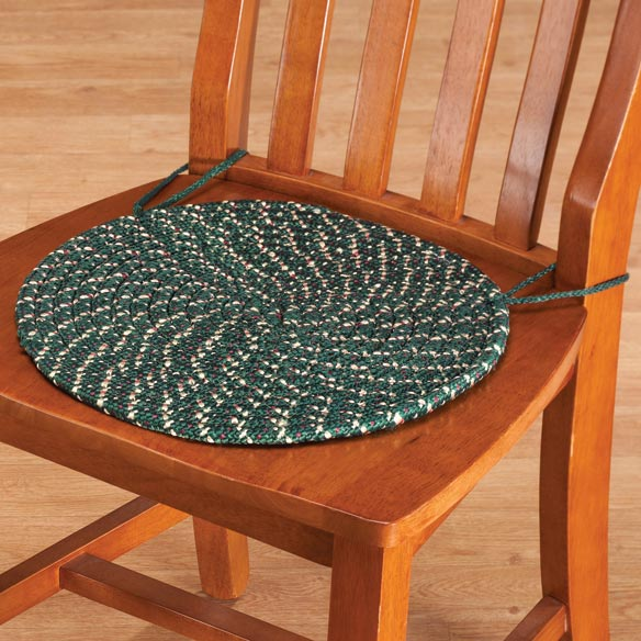 Braided Chair Pads, Set of 2 - View 2