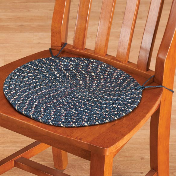 Braided Chair Pads, Set of 2 - View 3