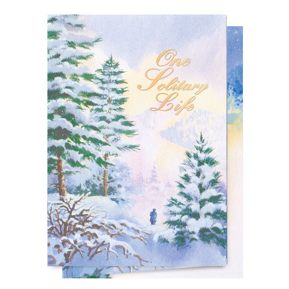 One Solitary Life Christmas Card - Set of 20 - View 2