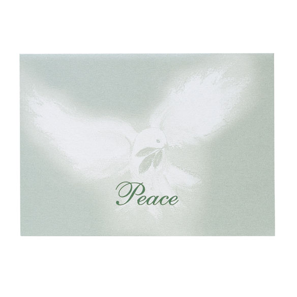 Peaceful Offering Holiday Cards - Set of 18 - View 2