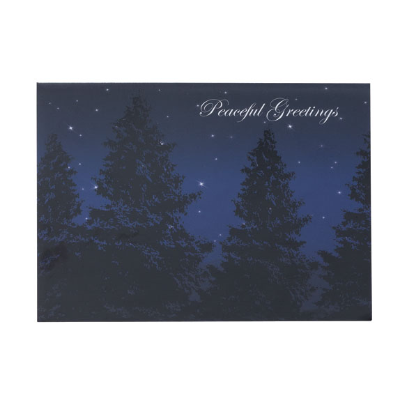 Peaceful Evening Holiday Cards - Set of 18 - View 2