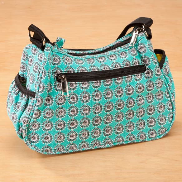 Amylee Weeks Floral Dot Purse - View 2