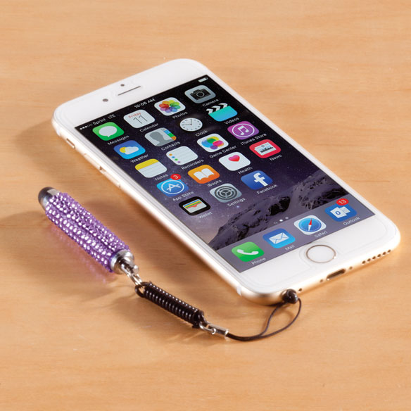 Trendy Touch Jeweled Stylus - View 3