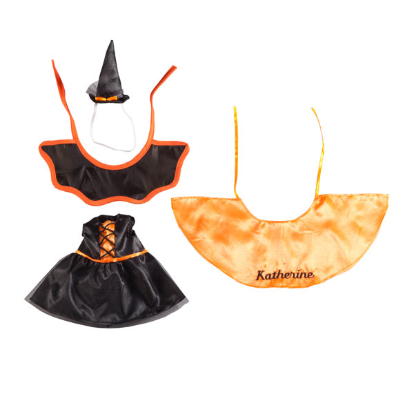 Personalized Little Sister Halloween Dress - View 2