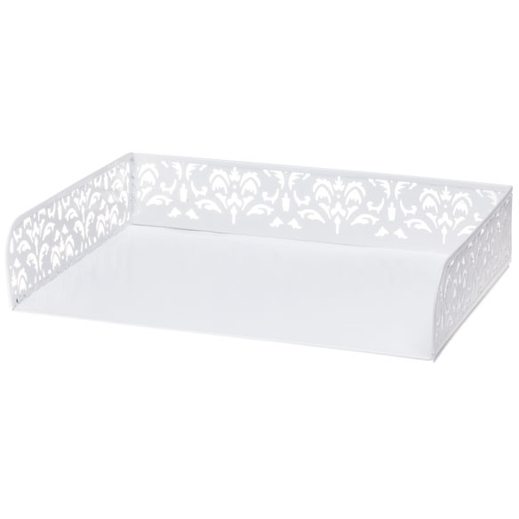 Damask Desktop Paper Tray - View 2