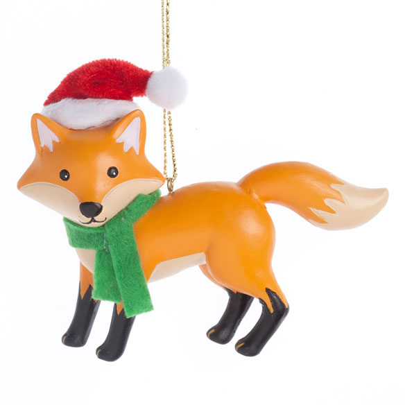 Woodland Fox Ornament - View 2