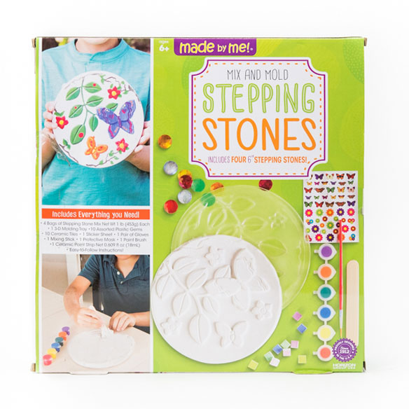 Mix and Mold Stepping Stones Kit - View 3