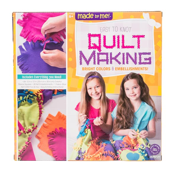Easy-to-Knot Quilt Making Kit - View 2