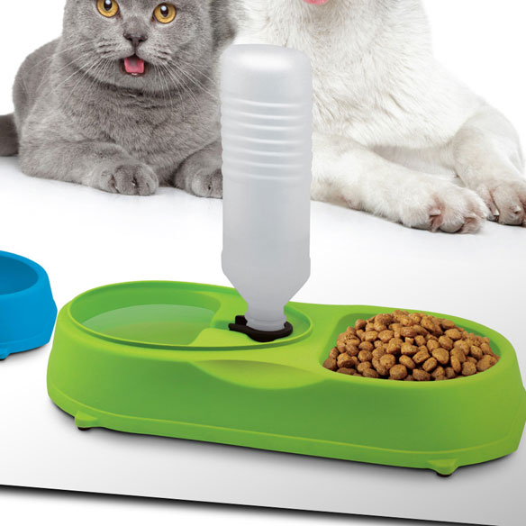 Pet Feeder with Water Refilling - View 2