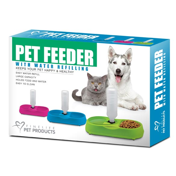 Pet Feeder with Water Refilling - View 4