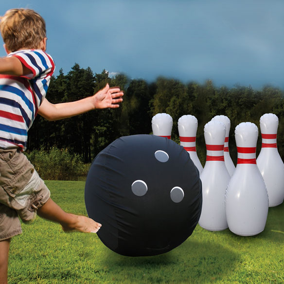 Giant Inflatable Bowling Set - View 3
