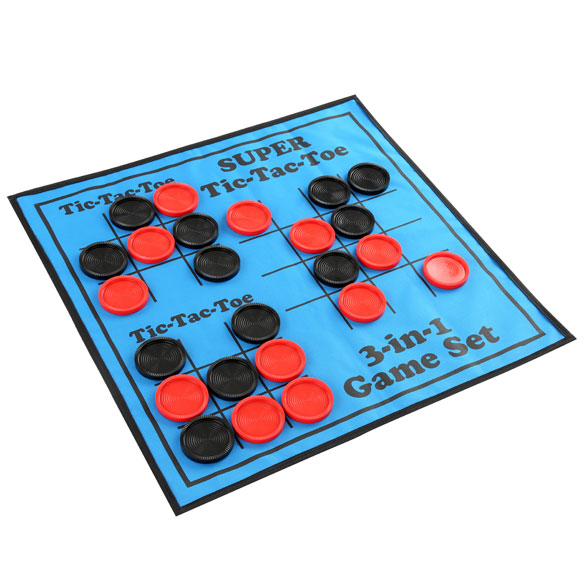 3-in-1 Giant Checkers Game - View 3