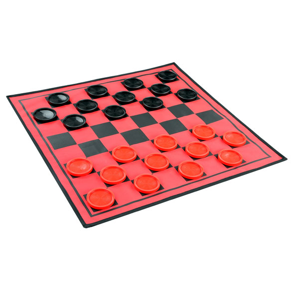 3-in-1 Giant Checkers Game - View 4
