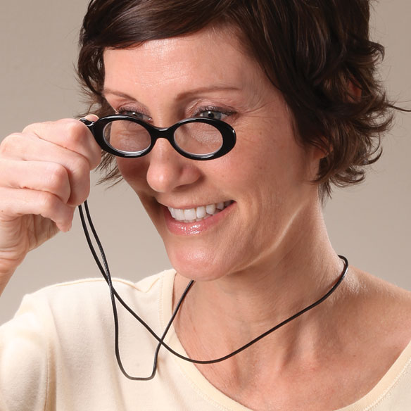 OptiSpex™ Magnifier Necklace - View 2