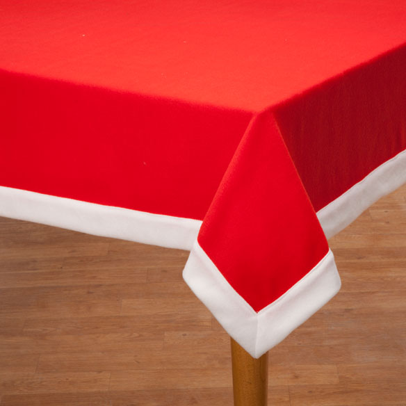 Santa Tablecloth - View 2