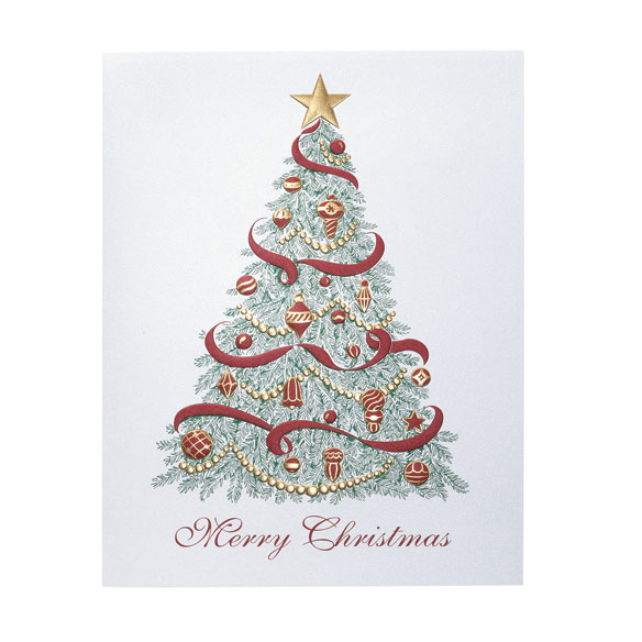 Christmas Trimmings Holiday Cards - Set of 18 - View 2