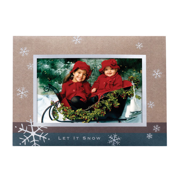 Let It Snow Holiday Cards - Set of 18 - View 2