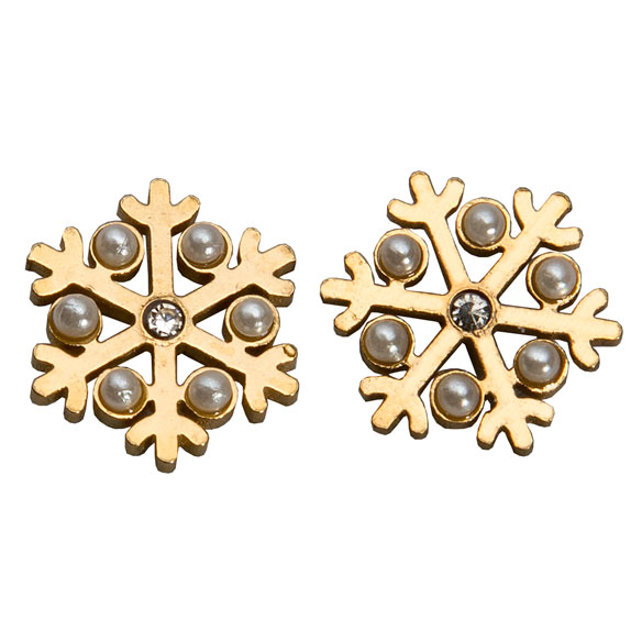 Snowflake Earrings - View 2