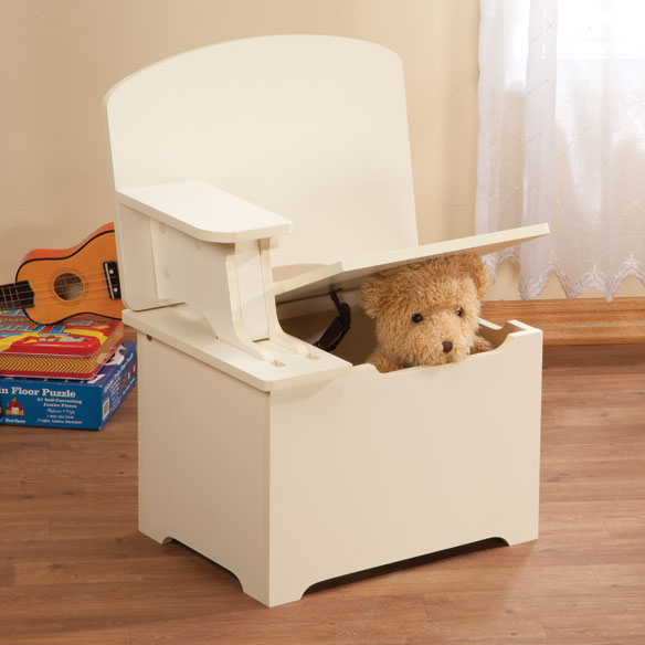 Customize Your Own Children's Toy Box and Desk - View 2