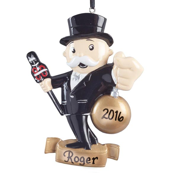 Personalized Monopoly® Ornament - View 2