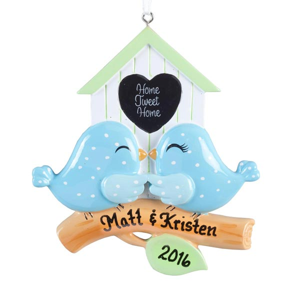 "Personalized ""Home Tweet Home"" Ornament - View 2"