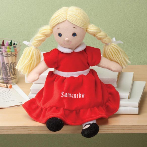 Personalized Birthstone Little Sister Doll - View 2