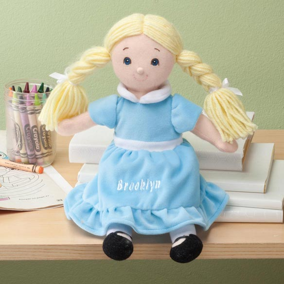 Personalized Birthstone Little Sister Doll - View 3