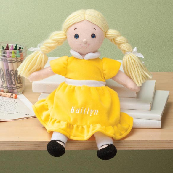 Personalized Birthstone Little Sister Doll - View 4