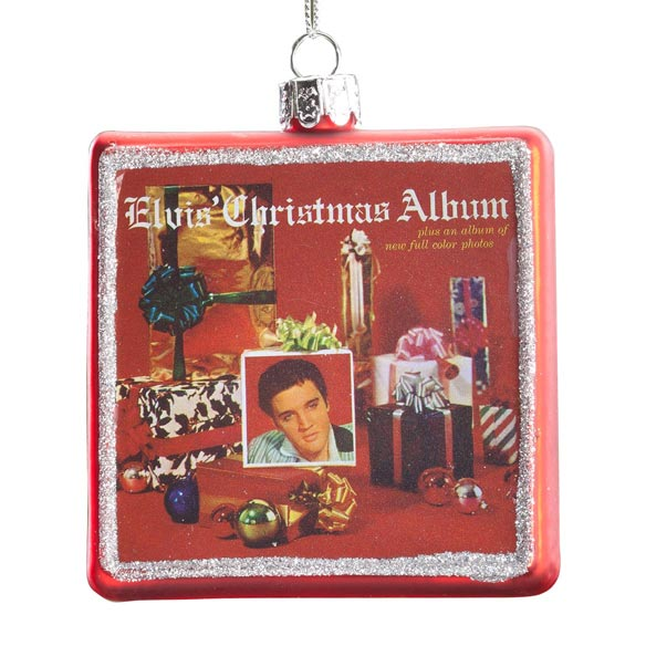Elvis Presley™ Christmas Album Ornament - View 2