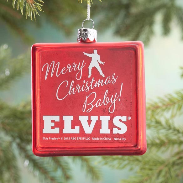 Elvis Presley™ Christmas Album Ornament - View 3