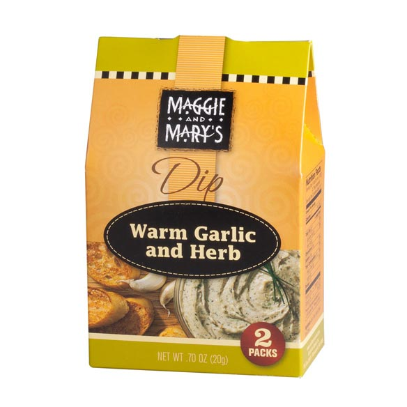 Maggie and Mary's Warm Garlic and Herb Dip Mix - View 2