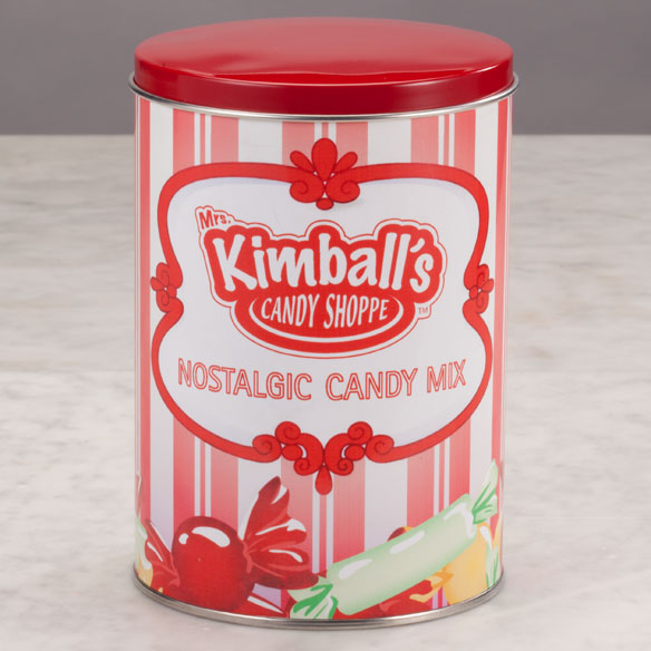 Mrs. Kimball's Candy Shoppe Nostalgic Candy Mix Keepsake Tin - View 2