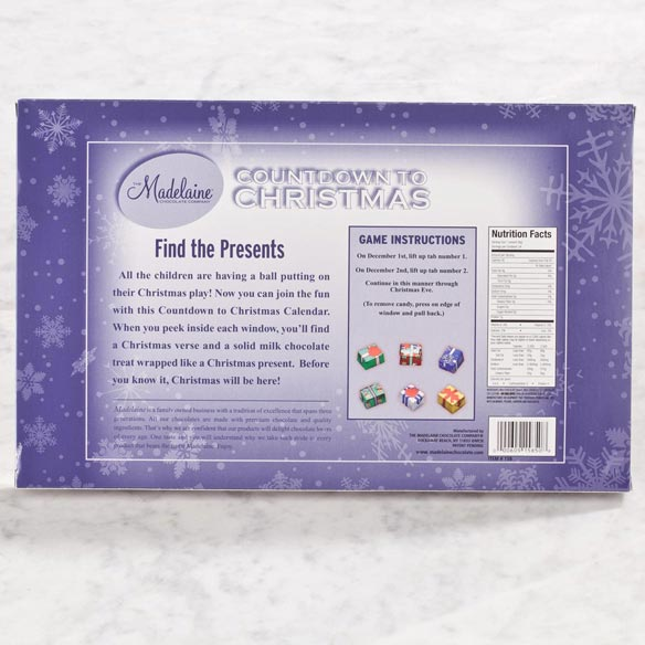Madelaine® Chocolate Countdown to Christmas - View 2