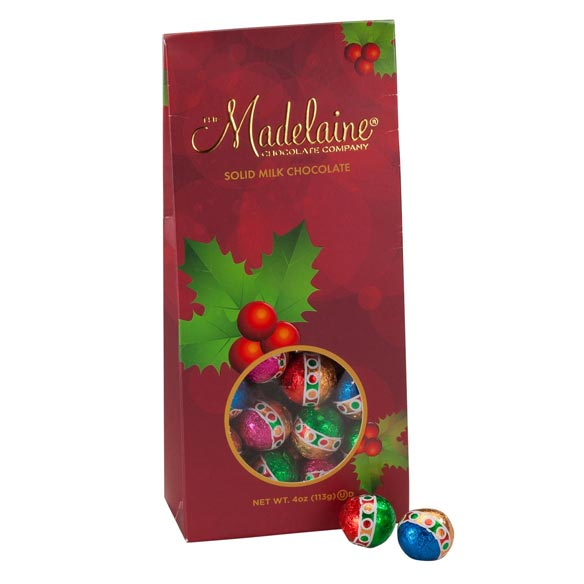 Madelaine® Foil Wrapped Chocolate Balls - View 2