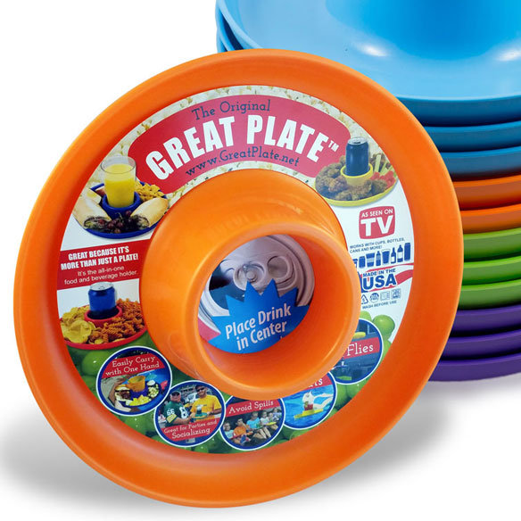 Great Plate™ Brights set of 4 - View 5