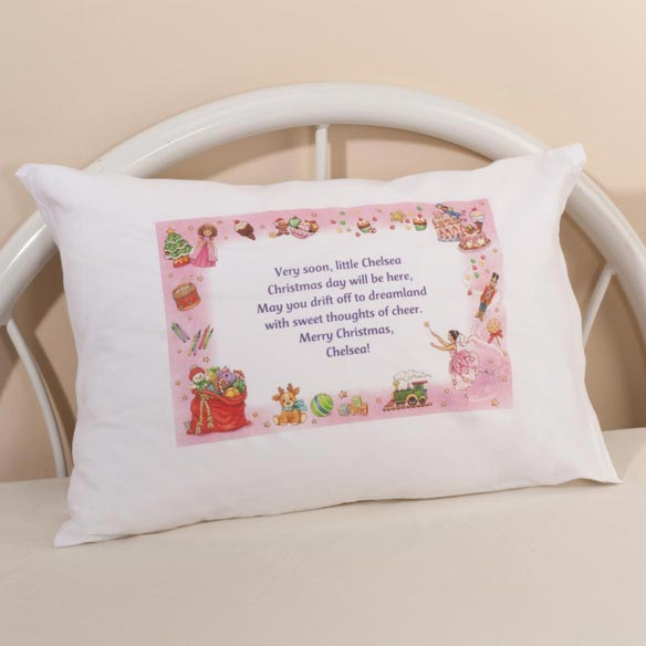 Personalized Christmas Pillowcase - View 2