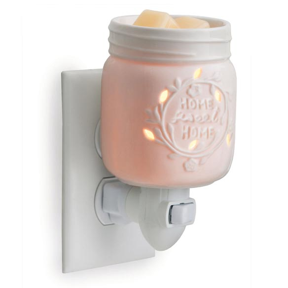 Mason Jar Pluggable Fragrance Warmer - View 2