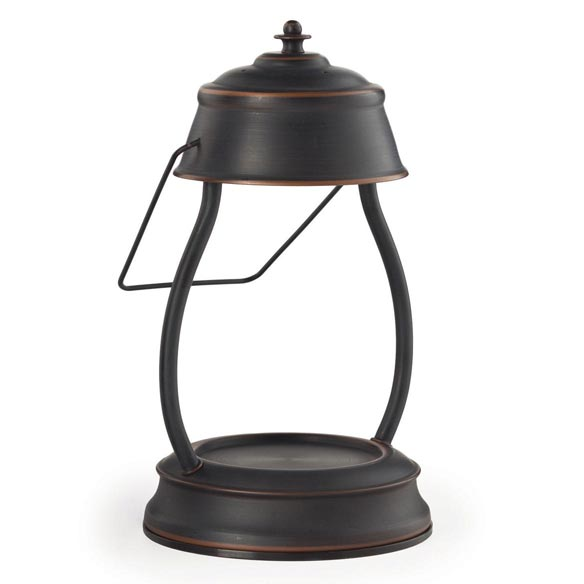 Oil Rubbed Bronze Hurricane™ Candle Warmer Lantern - View 2