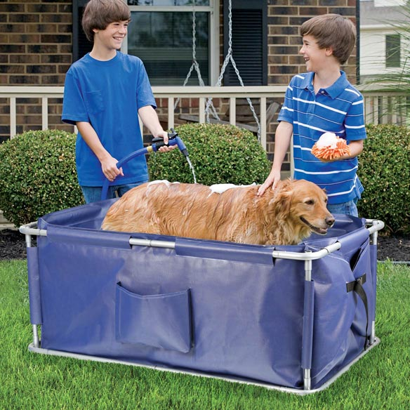 Portable Pet Bath - View 2