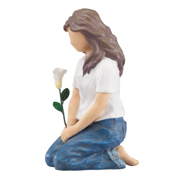Forever in Blue Jeans Flower of Love Figurine - View 2